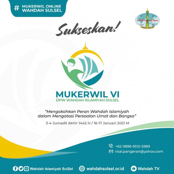 Mukerwil VI DPW Wahdah Islamiyah Sulsel